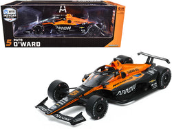 "Dallara IndyCar #5 Pato O'Ward ""Arrow"" McLaren SP ""NTT Indy Car Series"" (2020) 1/18 Diecast Model Car by Greenlight"