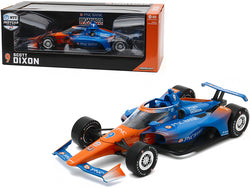 "Dallara Indy Car #9 Scott Dixon ""PNC Bank"" Chip Ganassi Racing ""NTT Indy Car Series"" (2020) 1/18 Diecast Model Car by Greenlight"