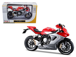 2012 MV Agusta F3 Red Bike 1/12 Diecast Motorcycle Model by Maisto