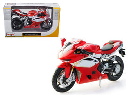 2012 MV Agusta F4RR Red Motorcycle 1/12 Diecast Motorcycle Model by Maisto