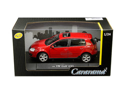 Volkswagen Golf GTI with Sunroof Red 1/24 Diecast Model Car by Cararama