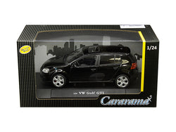 Volkswagen Golf GTI with Sunroof Black 1/24 Diecast Model Car by Cararama