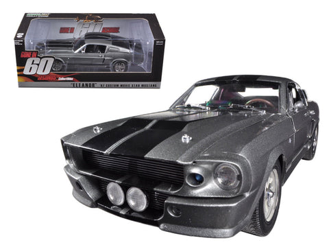 "1967 Ford Mustang Custom ""Eleanor"" Gone in 60 Seconds Movie (2000) 1/18 Diecast Model Car by Greenlight"