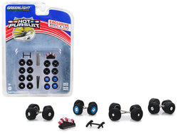 """Hot Pursuit"" Wheel and Tire Multipack (26 Piece Set) 1/64 by Greenlight"