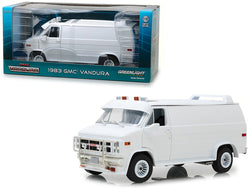 1983 GMC Vandura Custom White 1/18 Diecast Model by Greenlight