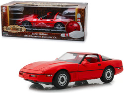 "1985 Chevrolet Corvette C4 Convertible Red ""Larry Sellers' -The Big Lebowski"" (1998) Movie 1/18 Diecast Model Car by Greenlight"