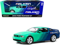 "2010 Ford Mustang GT ""Falken Tires"" 1/18 Diecast Model Car by Greenlight"