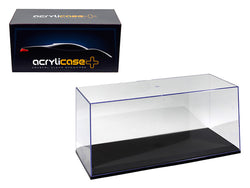 Collectible Acrylic Display Case with black base for 1/18 and 1/24 Diecast Models by Illumibox