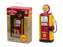 "1948 Wayne 100-A ""Shell Oil"" Vintage Gas Pump Replica Series #1 1/18 Diecast Model by Greenlight"