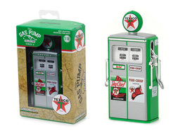 "1954 Tokheim 350 ""Texaco Sky Chief / Fire Chief"" Twin Vintage Gas Pump Replica Series #2 1/18 Diecast Model by Greenlight"