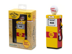 "1951 Wayne 505 ""Shell Oil - Super Shell"" Vintage Gas Pump Replica Series #3 1/18 Diecast Model by Greenlight"