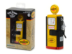 "1948 Wayne 100-A ""Pennzoil - Supreme Quality Safe Lubrication"" Vintage Gas Pump Replica Series #4 1/18 Diecast Model by Greenlight"