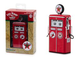 "1954 Tokheim 350 Twin ""Texaco: Fire-Chief Extra Super"" Vintage Gas Pump Replica Series #5 1/18 Diecast Model by Greenlight"