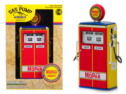 "1954 Tokheim 350 Twin Gas Pump ""MOPAR Parts - The Chrysler Corporation Parts Division Products"" Vintage Gas Pumps Series #6 1/18 Diecast Model by Greenlight"