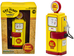 "1948 Wayne 100-A Gas Pump ""Super Shell"" Yellow and Red ""Vintage Gas Pumps"" Series #8 1/18 Diecast Model by Greenlight"