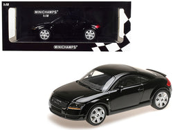 1998 Audi TT Coupe Black Limited Edition to 300 pieces Worldwide 1/18 Diecast Model Car by Minichamps