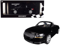 1999 Audi TT Roadster Black Limited Edition to 300 pieces Worldwide 1/18 Diecast Model Car by Minichamps