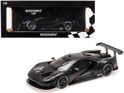 2016 Ford GT Testcar Carbon Black Limited Edition to 300 pieces Worldwide 1/18 Diecast Model Car by Minichamps