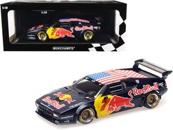 "BMW M1 Gr. B #7 Red Bull"" Dieter Quester - Luca Riccitelli Class Winners HRS Daytona Classic 24H (2017) Limited Edition to 300 pieces Worldwide 1/18 Diecast Model Car by Minichamps"