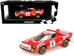 Lancia Stratos #6 Bernard Darniche / Alain Mahe Winners Tour de Corse (1975) Limited Edition to 402 pieces Worldwide 1/18 Diecast Model Car by Minichamps