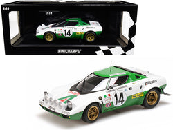 Lancia Stratos #14 Sandro Munari / Mario Mannucci Winners Rallye Monte Carlo (1975) Limited Edition to 504 pieces Worldwide 1/18 Diecast Model Car by Minichamps