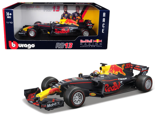 Renault Red Bull Racing TAG Heuer RB13 Formula 1 #33 Max Verstappen 1/18 Diecast Model Car by Bburago