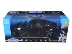 Bentley Continental Supersports Black 1/18 Diecast Model Car by Welly