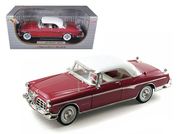 1955 Chrysler Imperial Canyon 1/18 Diecast Model Car by Signature Models