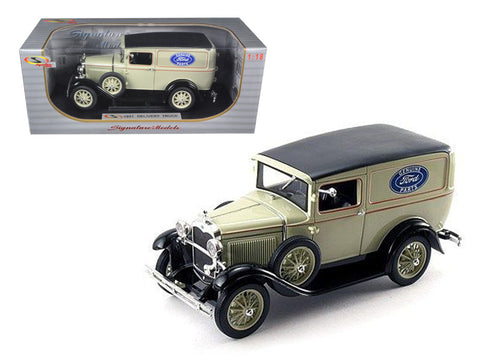 "1931 Ford ""Model A"" Panel Delivery Truck 1/18 Diecast Model Car by Signature Models"