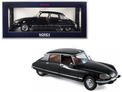 1974 Citroen DS 23 Pallas Black 1/18 Diecast Model Car by Norev