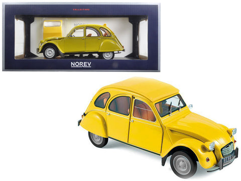 1979 Citroen 2CV 6 Club Mimosa Yellow 1/18 Diecast Model Car by Norev