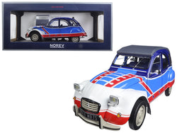 1976 Citroen 2CV Basket 1/18 Diecast Model Car by Norev