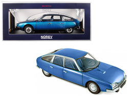 1974 Citroen CX 2000 Delta Blue Metallic 1/18 Diecast Model Car by Norev