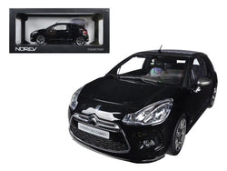 2013 Citroen DS3 A56 Cabrio Black 1/18 Diecast Model Car by Norev