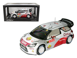 Citroen DS3 #7 WRC Rally Portugal 2012 Al-Attiyah / Bernacchini 1/18 Diecast Model Car by Norev