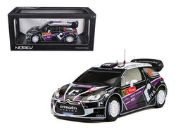 Citroen DS3 #17 WRC Rally Portugal 2012 Merksteijn Jr/Chevallier 1/18 Diecast Model Car by Norev