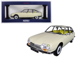 1971 Citroen GS Erable Beige 1/18 Diecast Model Car by Norev