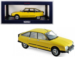 1979 Citroen GS X3 Mimosa Yellow 1/18 Diecast Model Car by Norev