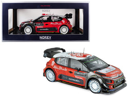 Citroen C3 WRC Rally 2017 Official Presentation Version 1/18 Diecast Model Car by Norev