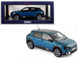 2018 Citroen C4 Cactus Emeraude Blue 1/18 Diecast Model Car by Norev