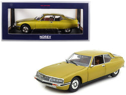 1971 Citroen SM Golden Leaf / Gold 1/18 Diecast Model Car by Norev