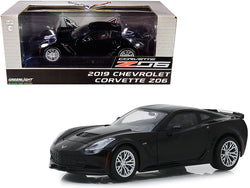 2019 Chevrolet Corvette Z06 Coupe Black 1/24 Diecast Model Car by Greenlight