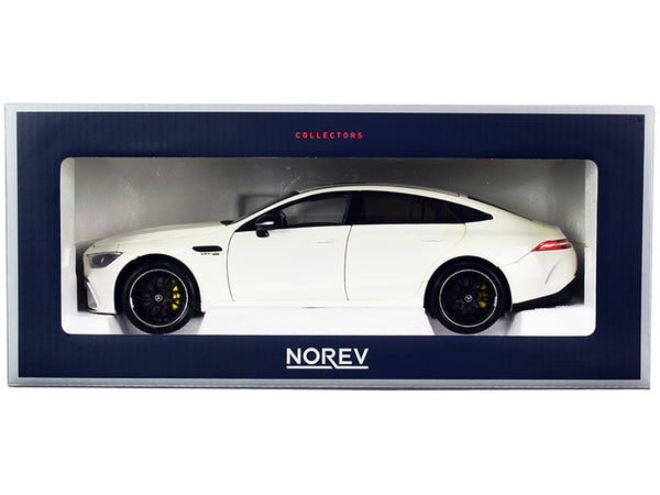 2018 Mercedes AMG GT S 4 Matic+ White 1/18 Diecast Model Car by Norev
