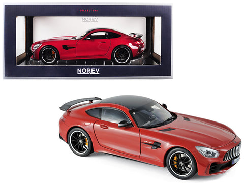 2017 Mercedes AMG GT R Coupe Red 1/18 Diecast Model Car by Norev