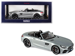2017 Mercedes AMG GT C Roadster Silver Metallic 1/18 Diecast Model Car by Norev