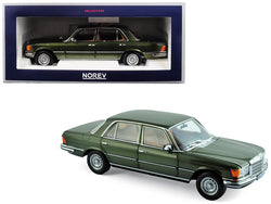 1976 Mercedes Benz 450 SEL 6.9 Green Metallic 1/18 Diecast Model Car by Norev