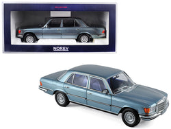 1976 Mercedes Benz 450 SEL 6.9 Grey/Blue Metallic 1/18 Diecast Model Car by Norev