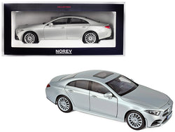 2018 Mercedes Benz CLS Class Silver 1/18 Diecast Model Car by Norev