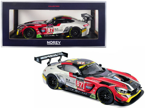 Mercedes AMG GT3 #87 Ricci / Beaubelique / Vannelet (Team Akka) Winners GT Series Monza 2016 1/18 Diecast Model Car by Norev