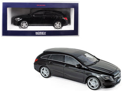 2015 Mercedes CLA Class Shooting Brake Wagon Black 1/18 Diecast Model Car by Norev